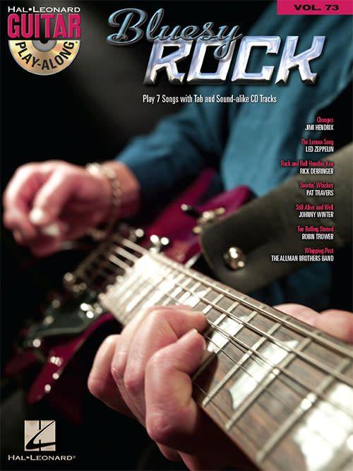 Hal Leonard Bluesy Rock - Guitar Play-Along