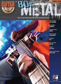 Hal Leonard 80s Metal - Guitar Play-Along