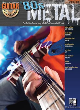 Hal Leonard 80s Metal - Guitar Play-Along