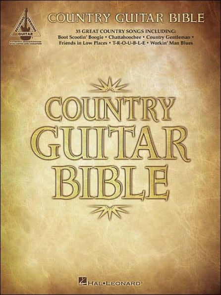 Hal Leonard Country Guitar Bible - Recorded Guitar