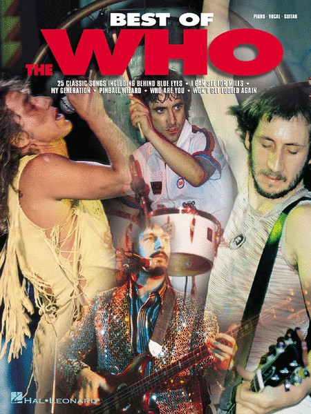 Hal Leonard Best of the Who - Piano/Vocal/Guitar