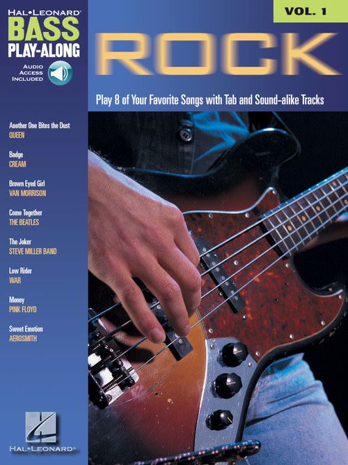 Hal Leonard Bass Play-Along - Rock W/CD