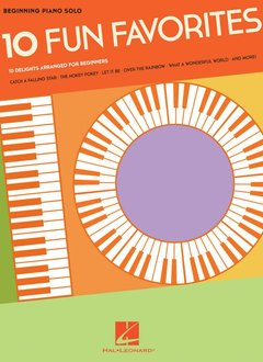 Hal Leonard Beginning Piano Solos - 10 Fun Favorites