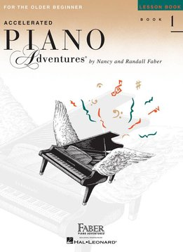 Faber Faber Accelerated Piano Adventures Lesson Book 1