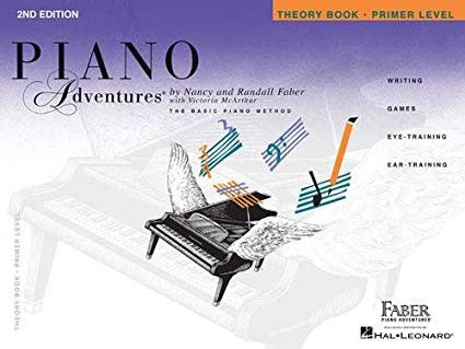 Hal Leonard Piano Adventures Primer Level Theory Book