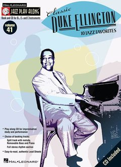 Hal Leonard Jazz Play Along Classic Duke Ellington V41