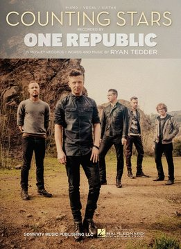 Hal Leonard One Republic - Counting Stars, Piano/Vocal/Guitar