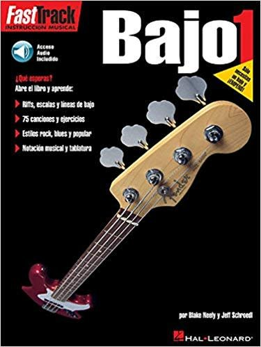 Hal Leonard FastTrack Bajo Method 1, Book/CD Spanish Edition