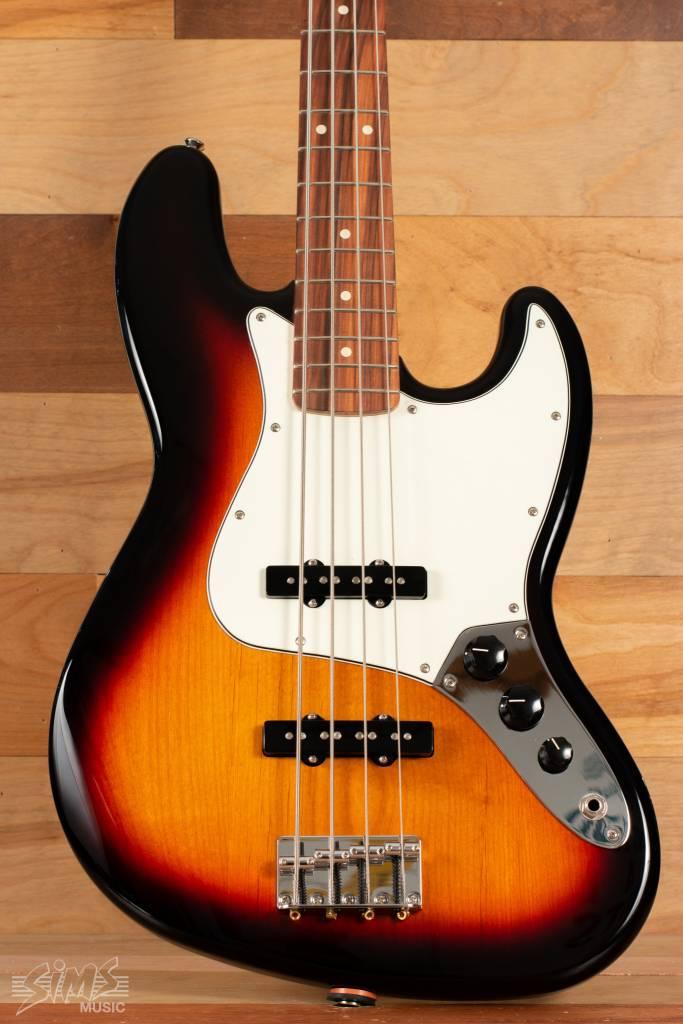 Fender Fender Standard Jazz Bass®, Rosewood Fingerboard, Brown Sunburst