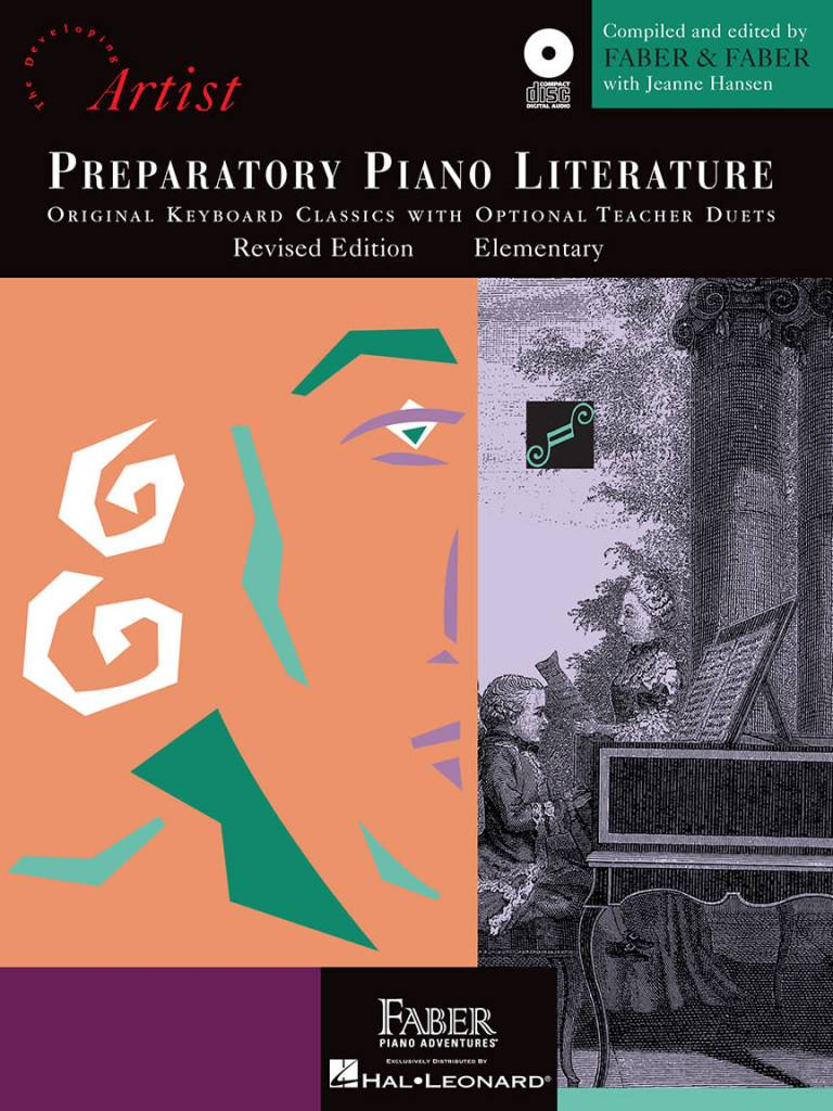 Hal Leonard Faber Preparatory Piano Literature W/CD