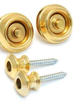 Dunlop Dunlop Dual Design Straplocks, Gold
