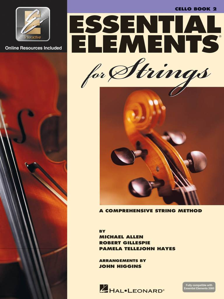 Hal Leonard Essential Elements Cello Book 2