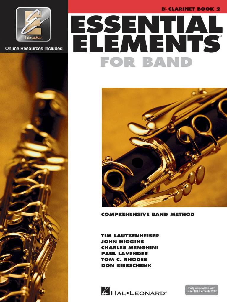 Hal Leonard Essential Elements Clarinet Book 2