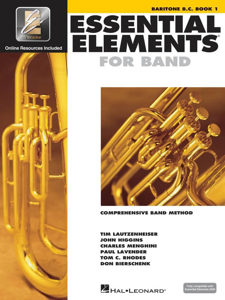 Hal Leonard Essential Elements Baritone B.C. Book 1