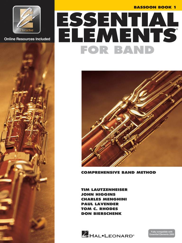 Hal Leonard Essential Elements Bassoon Book 1