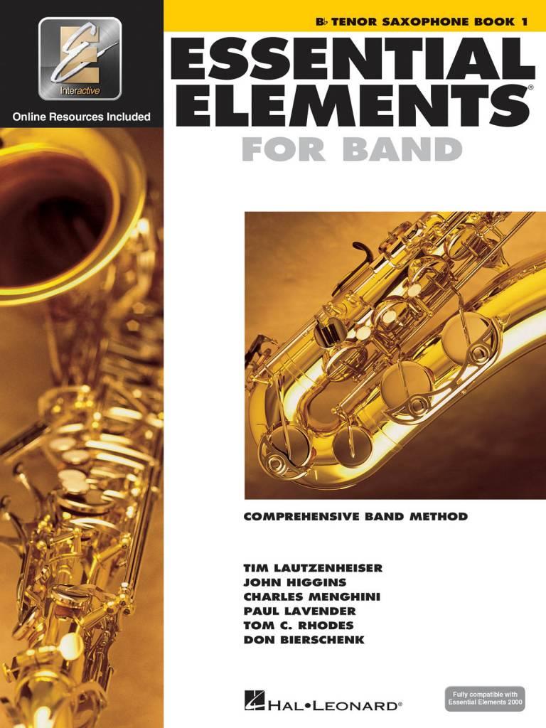 Hal Leonard Essential Elements Bb Tenor Saxophone Book 1