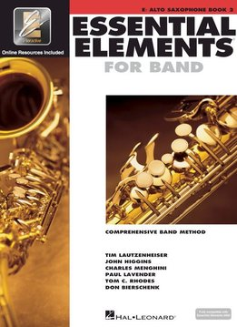 Hal Leonard Essential Elements Eb Alto Sax Book 2