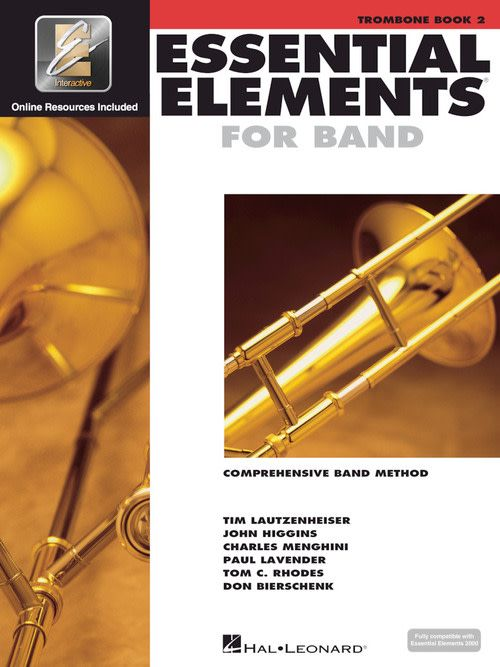 Hal Leonard Essential Elements Trombone Book 2