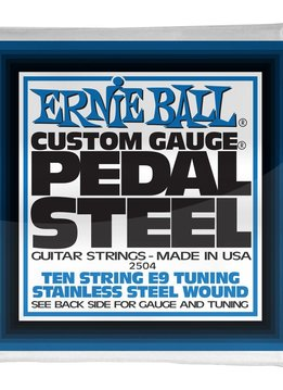 Ernie Ball Ernie Ball Pedal Steel 10-String E9 Tuning Stainless Steel Wound Electric Guitar Strings