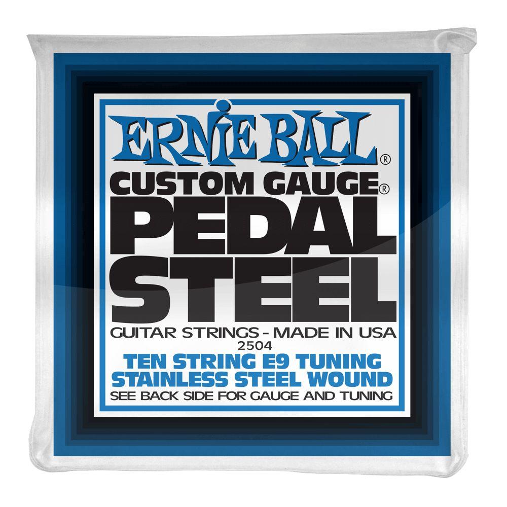 Ernie Ball Ernie Ball 2504 10-String E9 Pedal Steel String Set,  Stainless 13-38