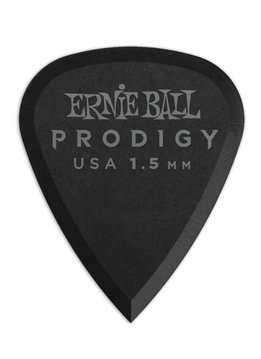 Ernie Ball Ernie Ball 1.5mm Black Standard Prodigy Picks 6-Pack