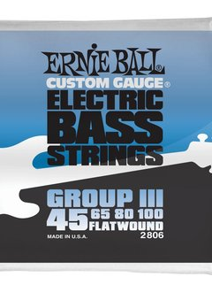 Ernie Ball Ernie Ball Flatwound Group III Electric Bass Strings - 45-100 Gauge