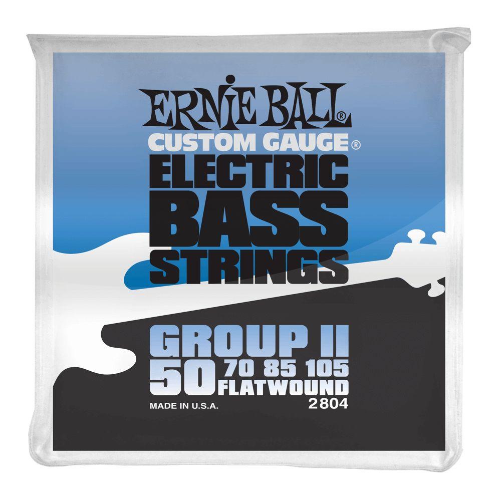 Ernie Ball Ernie Ball Flatwound Group II Electric Bass Strings - 50-105 Gauge