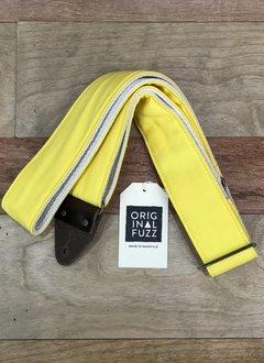 Fuzz Original Fuzz Canvas Guitar Strap, Yellow