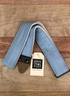 Fuzz Original Fuzz Canvas Guitar Strap, Sky Blue