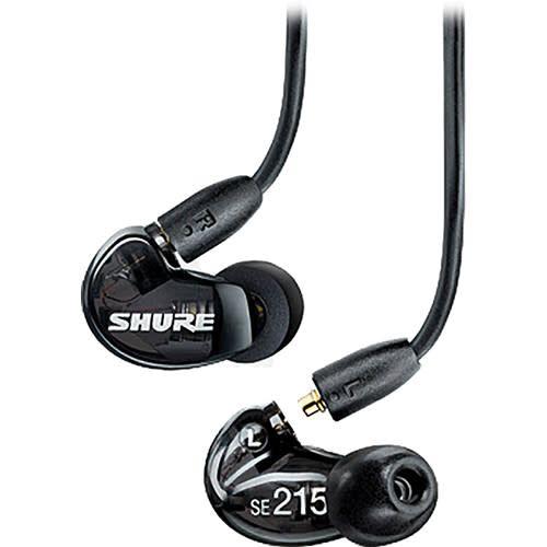 Shure Shure SE215-K Sound Isolating Earphones, Black