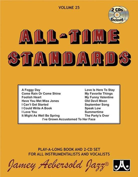 Jamey Aebersold Jazz, Volume 25: All-Time Standards
