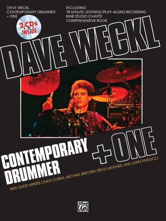 Dave Weckl Contemporary Drummer   One Book & 2 CDs