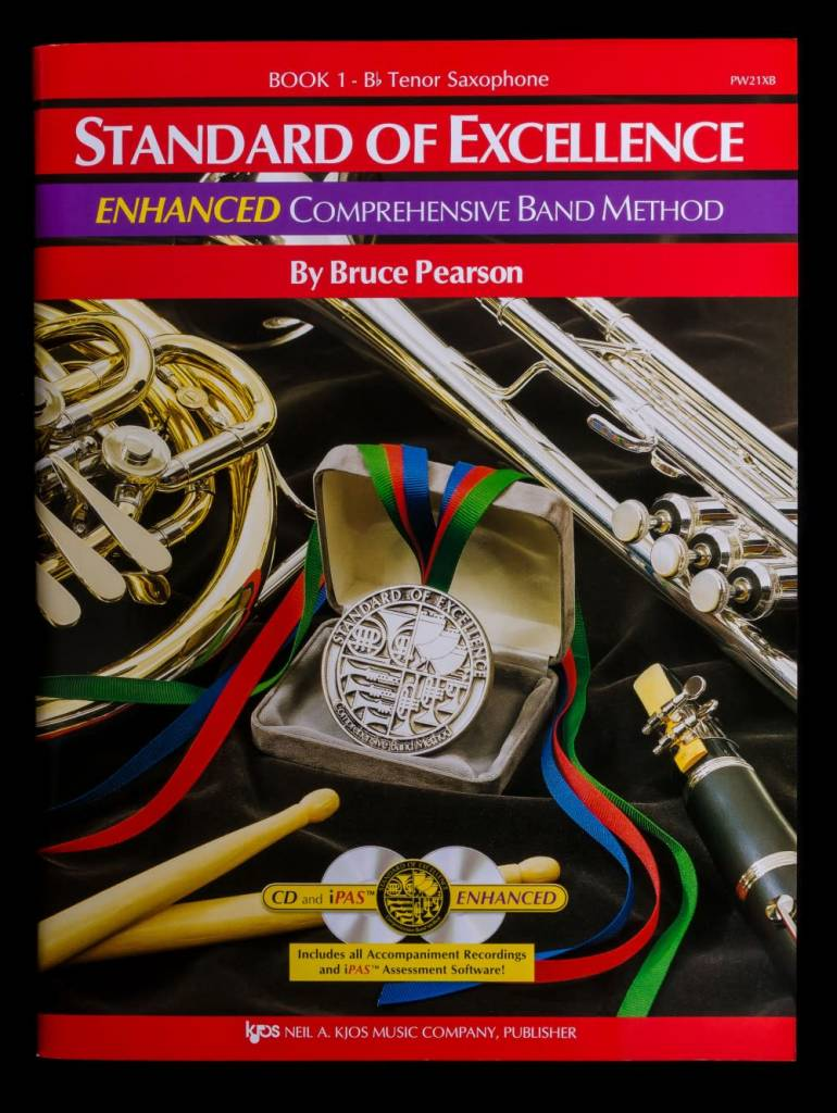 Kjos Standard of Excellence 1 Enhanced Tenor Sax