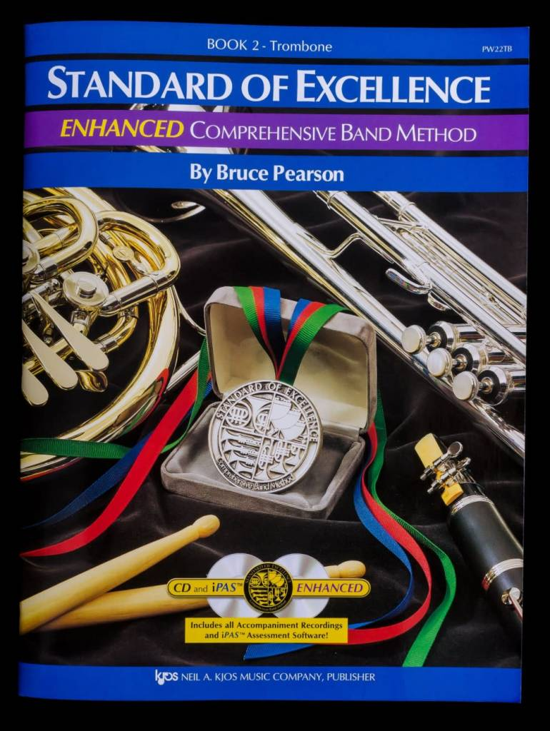 Kjos Standard of Excellence 2 Enhanced Trombone
