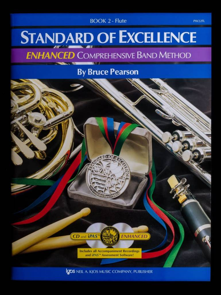 Kjos Standard of Excellence 2 Enhanced Flute