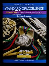 Kjos Standard of Excellence 2 Drums & Mallet