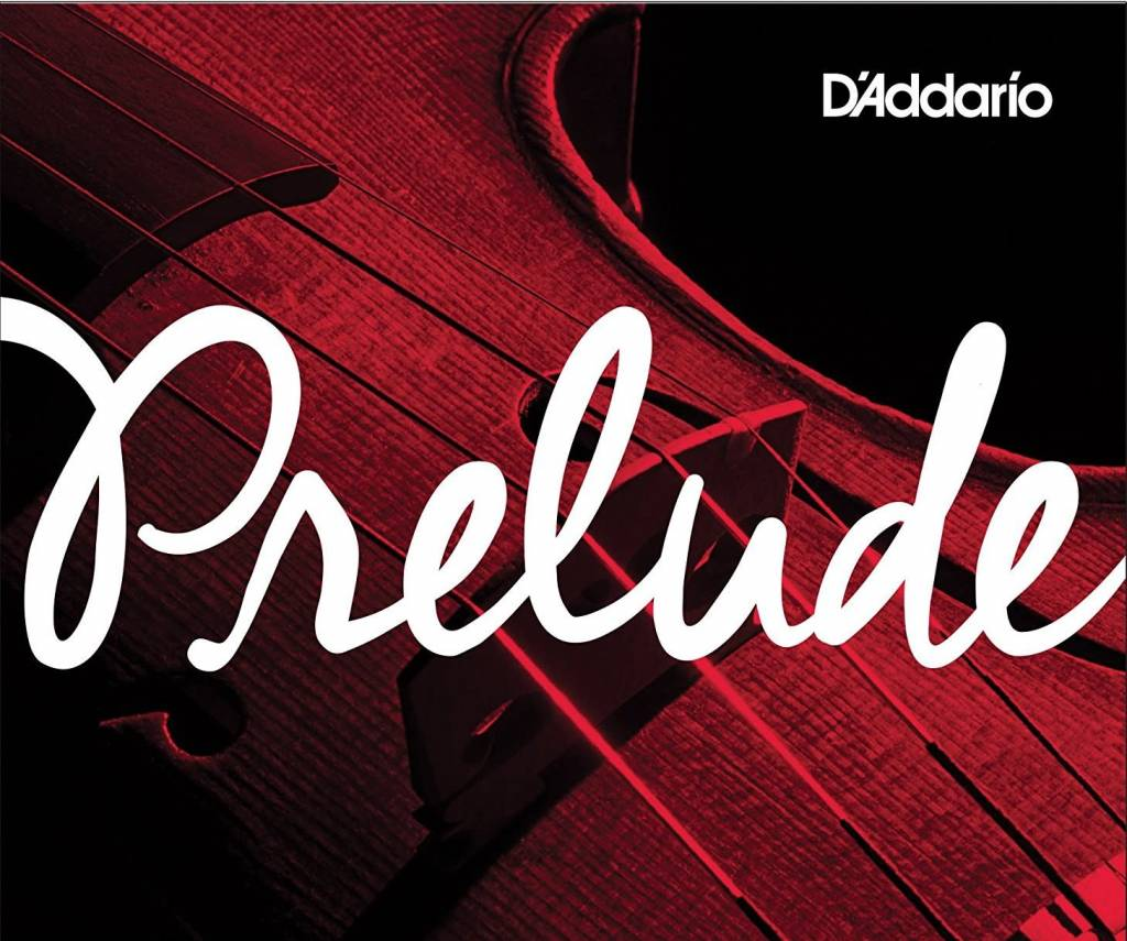 D'Addario Prelude Violin Single D String, 4/4 Scale, Medium Tension