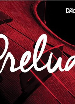 D'Addario Prelude Violin Single A String, 3/4 Scale, Medium Tension