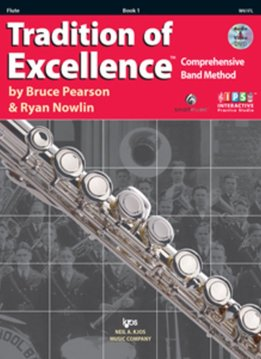 Kjos Tradition of Excellence Flute Book 1