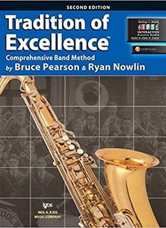 Kjos Tradition of Excellence Tenor Sax Book 2