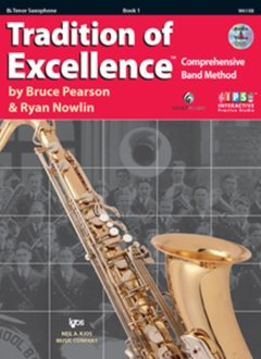 Kjos Tradition of Excellence Tenor Sax Book 1