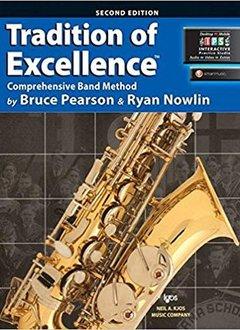 Kjos Tradition of Excellence Alto Sax Book 2