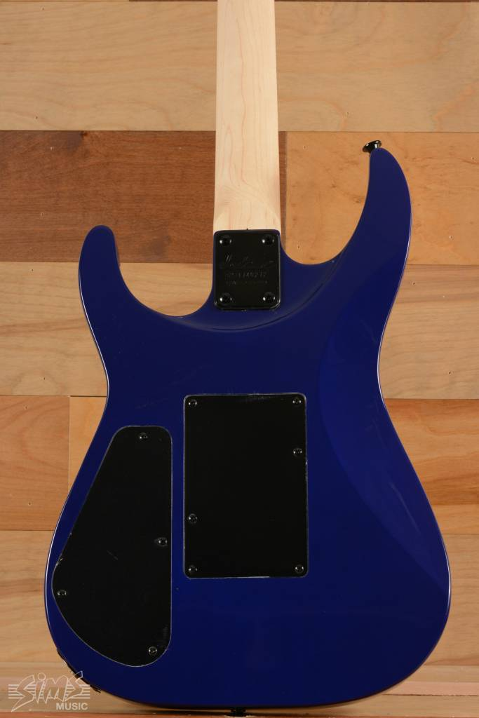 Jackson Jackson JS32Q S Series Arch Top, Rosewood Fingerboard, Quilted Maple Transparent Blue - mint