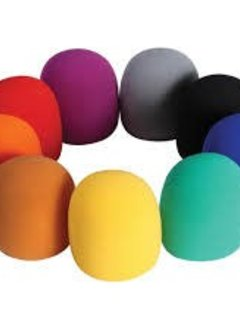 On-Stage On-Stage ASWS58C Multi Colored Windscreens 9 pack