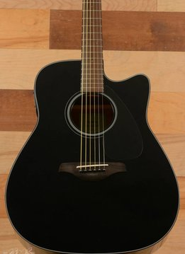 Yamaha Yamaha FGX800C Acoustic Guitar, Black - Mint
