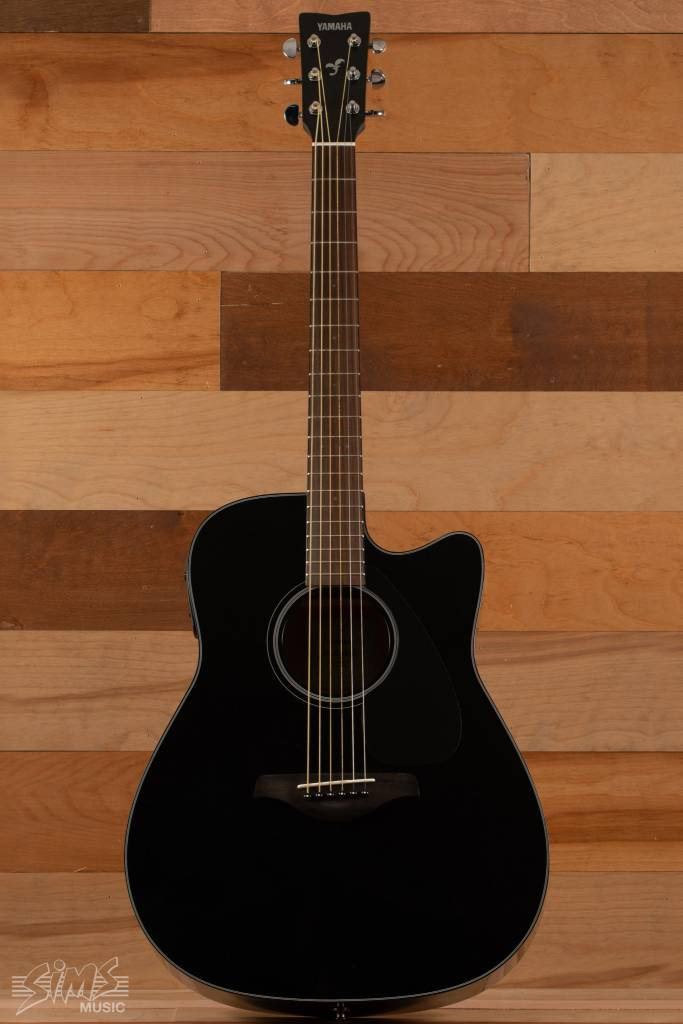 Yamaha Yamaha FGX800C Acoustic Guitar, Black - M