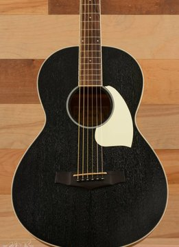 Ibanez Ibanez PN14 Parlor Acoustic, Weathered Black Open Pore