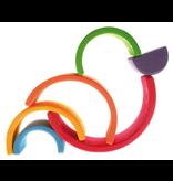 Grimm's Medium Rainbow, Multi-Coloured 6 Pcs.