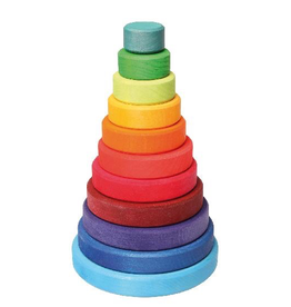 Grimm's Conical Tower Large, Multi-Coloured