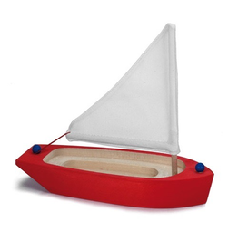 Gluckskafer Sailing Boat, Red